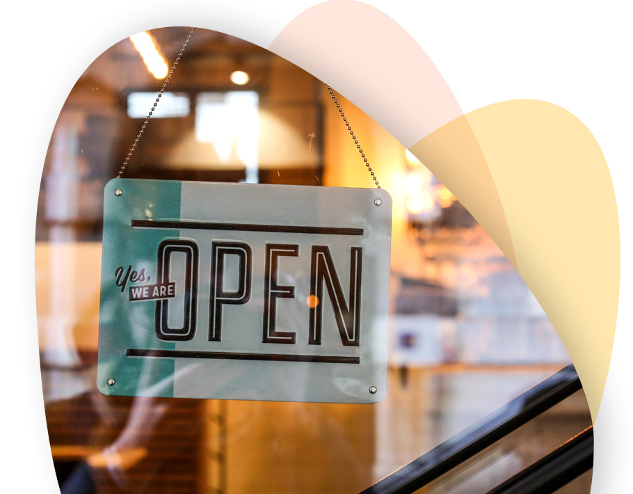 Image of a door with message as Open, Pasadena Image Printing, Printing in Pasadena