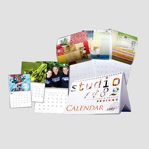 Image of Sample prints of Calendar, Pasadena Image Printing, Calendars