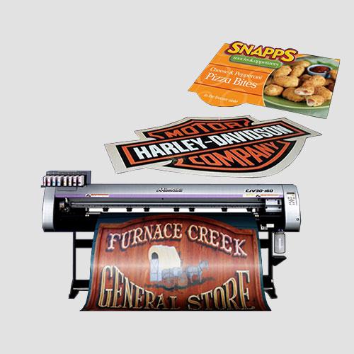 Image of Sample prints of Floor Graphics, Pasadena Image Printing, Floor Graphics.