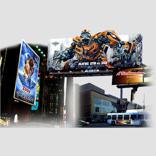 Image of sample prints of Billboards, Pasadena Image Printing, Billboards