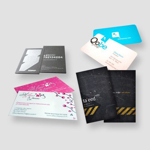Image of sample of business cards, Pasadena Image Printing, Business card Printing