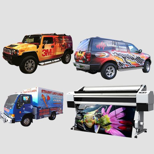 Image of Sample prints of Car Wraps, Pasadena Image Printing , Car Wrap