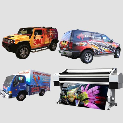 Image of Sample prints of Car Wraps, Pasadena Image Printing , Car Wrap