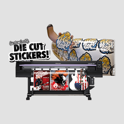 Image of sample Prints of Diecut Stickers, Pasadena Image Printing, Diecut Stickers