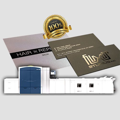 Image of Sample of Platinum pearl cards, Pasadena Image Printing, Platinum Pearl Cards