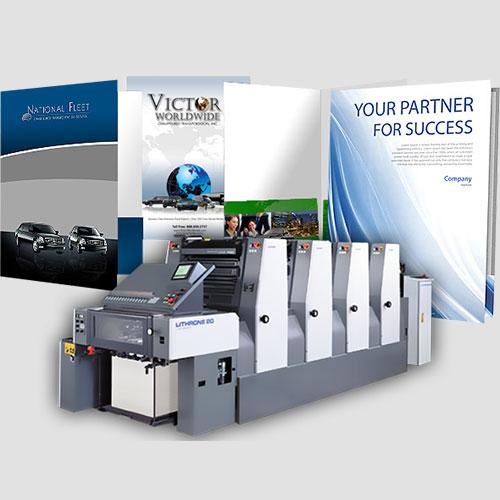 Image of Sample prints of Presentation Folders, Pasadena Image Printing, Presentation Folders