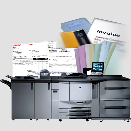 Image of Sample of Invoices, Pasadena Image Printing, Invoices
