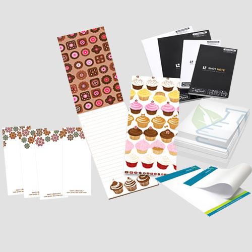 Image of Sample of Notepads, Pasadena Image Printing, Service Notepads