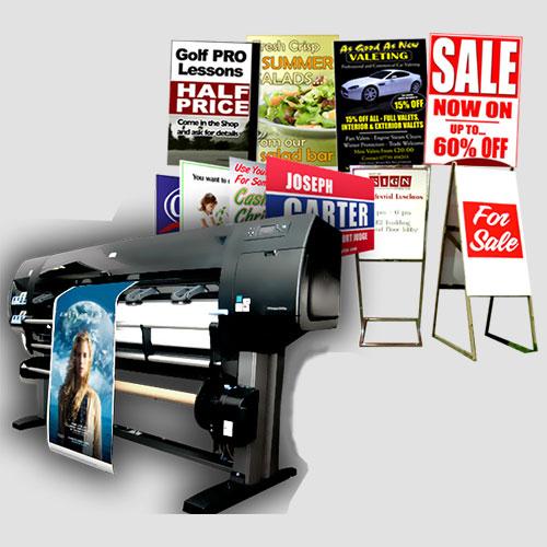 Image of Sample prints of Signs, Pasadena Image printing, Signs